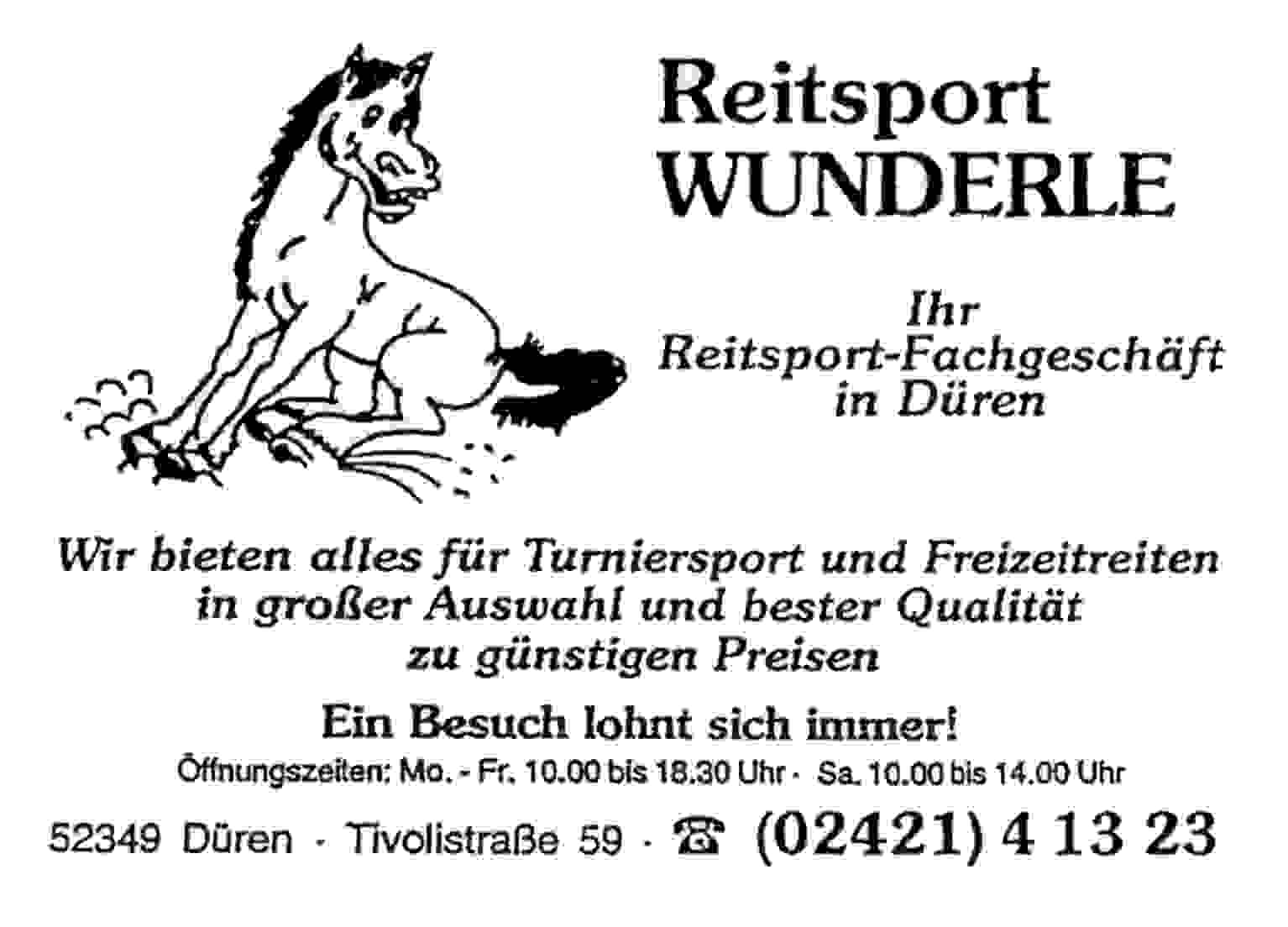 Reitsport Wunderle in Düren